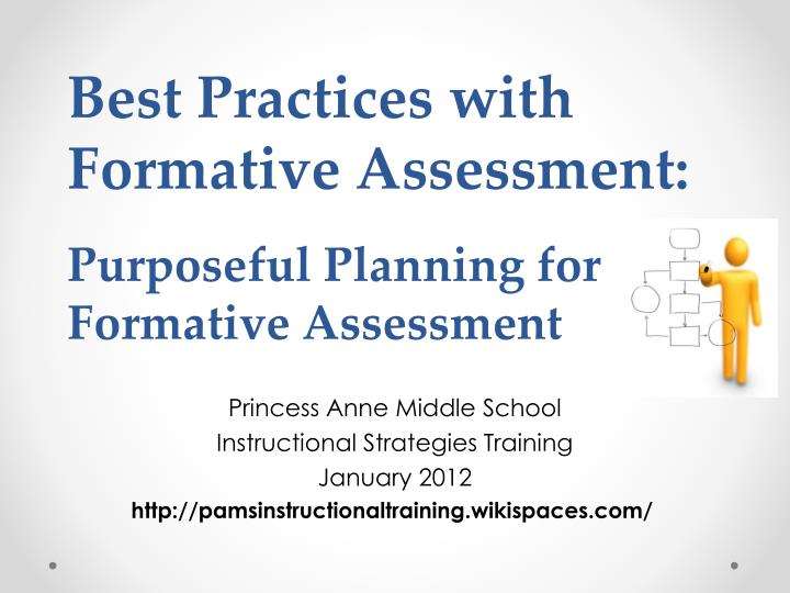 Ppt Best Practices With Formative Assessment Purposeful Planning