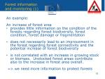 forest information and monitoring 1