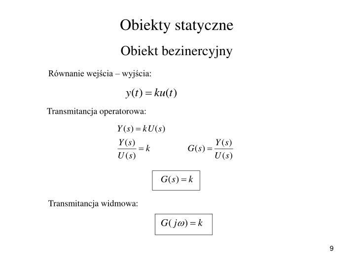Obiekty statyczne