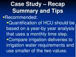 case study recap summary and tips2