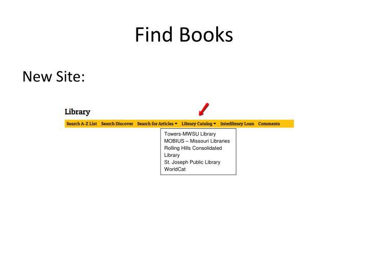 Find books1