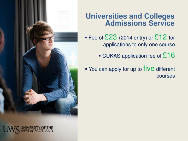 Universities and Colleges Admissions Service