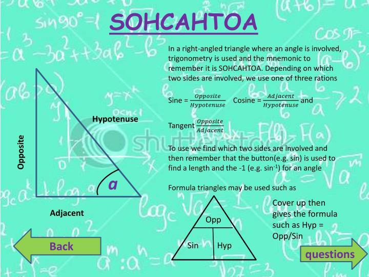SOHCAHTOA