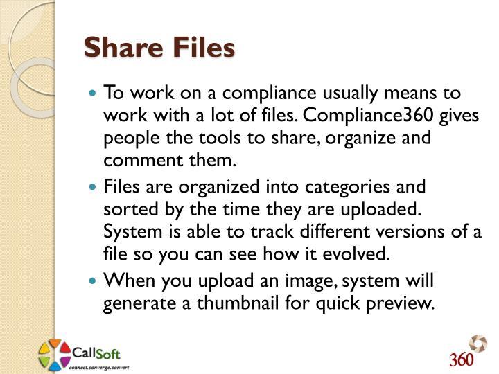 Share Files