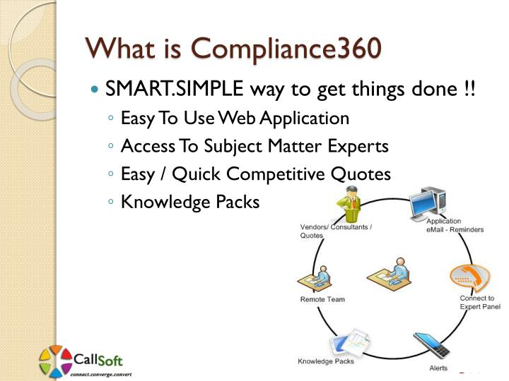 What is Compliance360