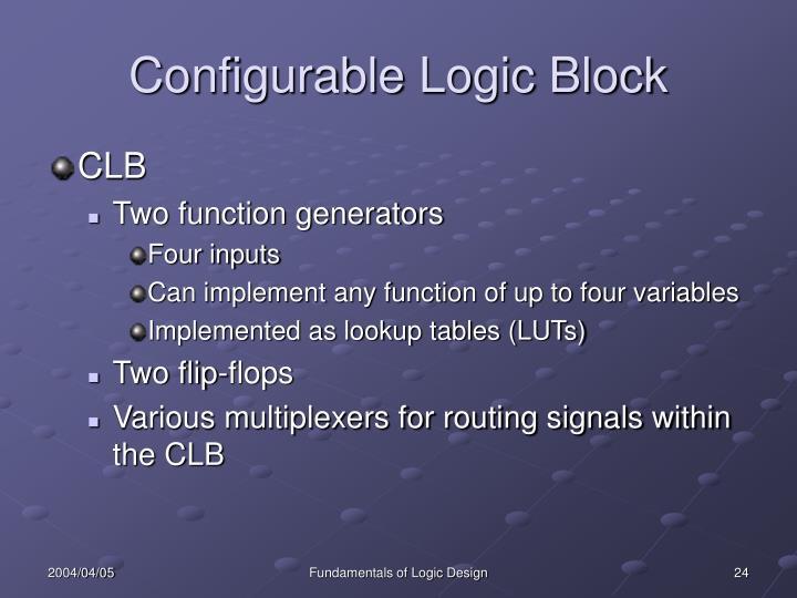 Configurable Logic Block