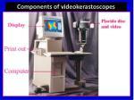 components of videokerastoscopes