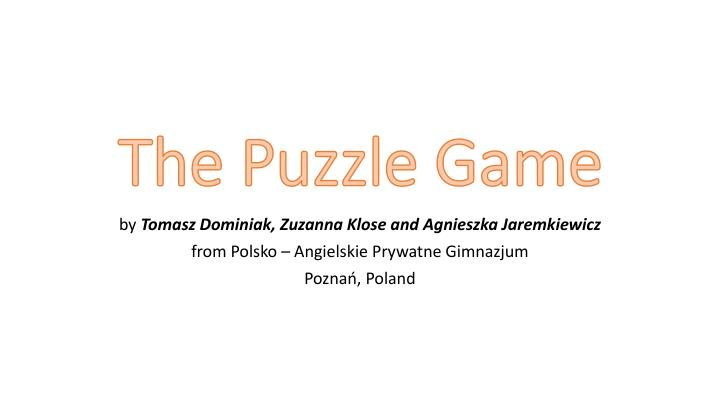 the puzzle game n.