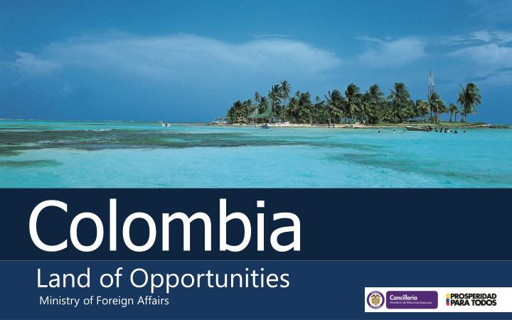land of opportunities n.