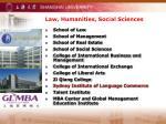 law humanities social sciences