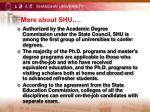 more about shu
