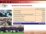 students and enrollment