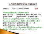 goniometrick funkce2