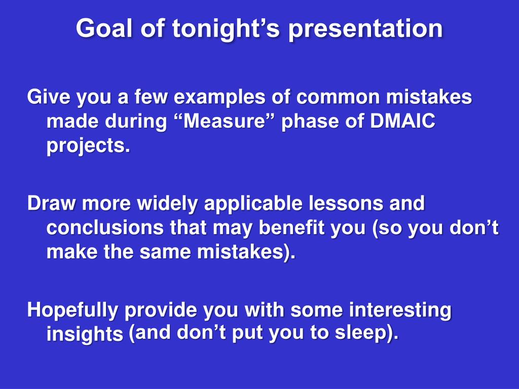 PPT - Lean Six Sigma DMAIC process : PowerPoint Presentation - ID