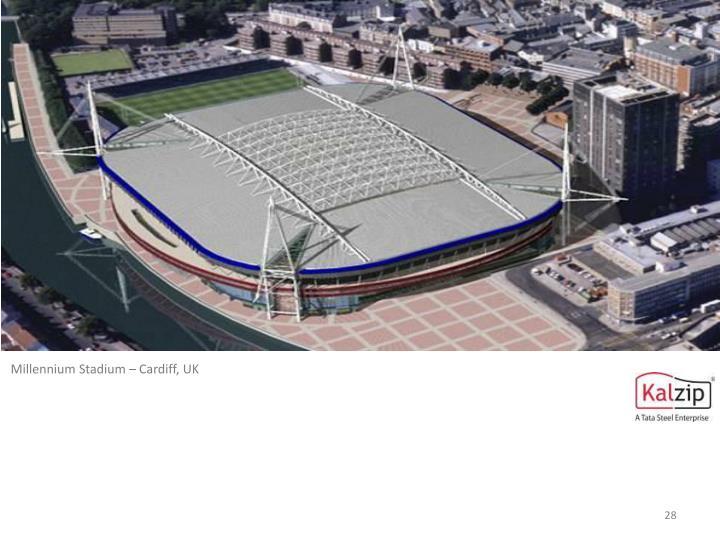 Millennium Stadium – Cardiff, UK