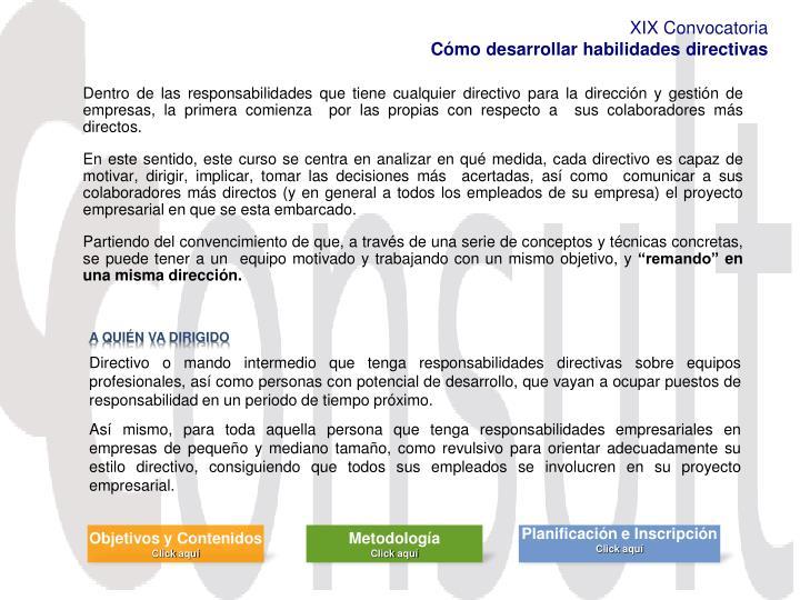 PPT - Cómo Desarrollar Habilidades Directivas PowerPoint ... 5ccdc443b4c9e