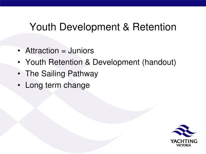 Youth Development & Retention