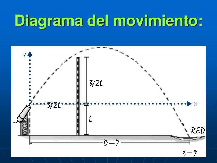 Diagrama del movimiento: