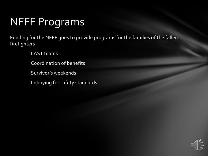 Nfff programs