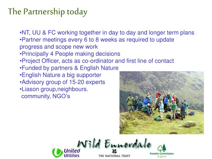 The Partnership today