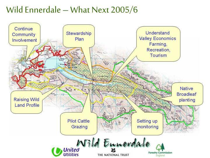 Wild Ennerdale – What Next 2005/6