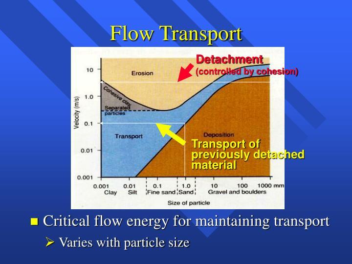 Flow Transport