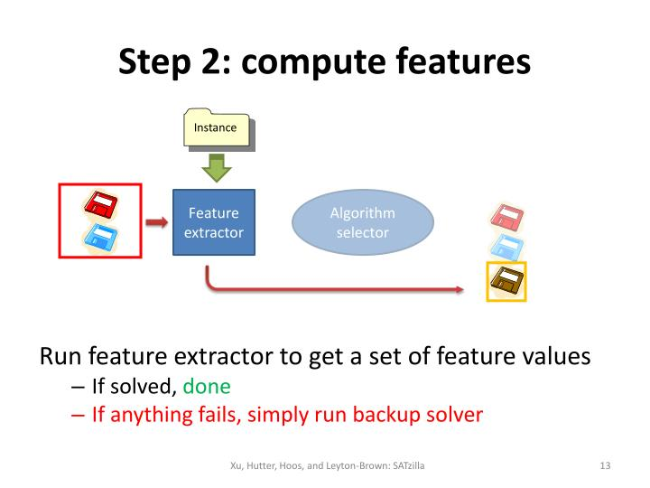 Step 2: compute features