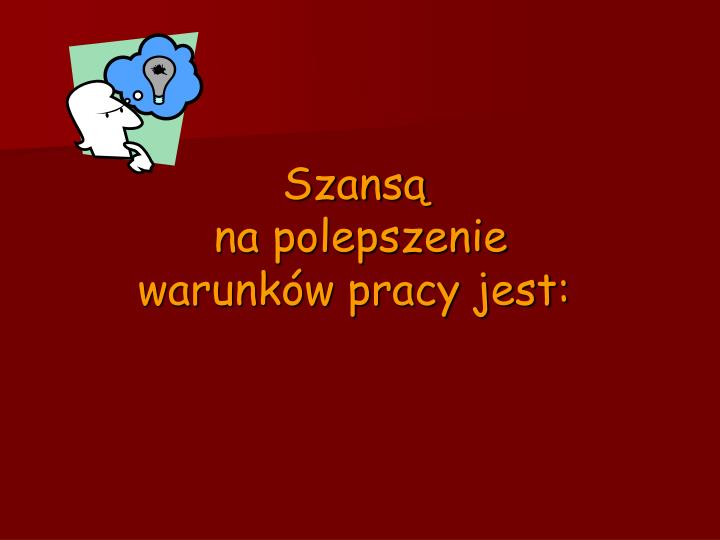 Szansą