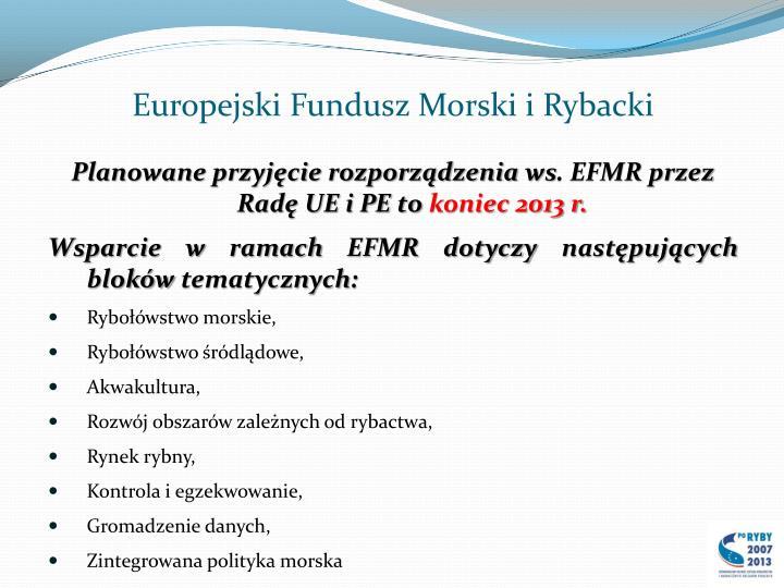 Europejski fundusz morski i rybacki1