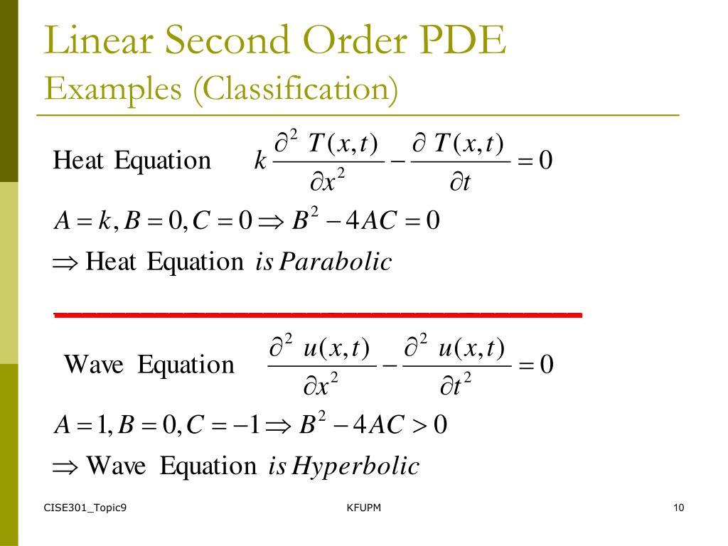 PPT - SE301: Numerical Methods Topic 9 Partial Differential