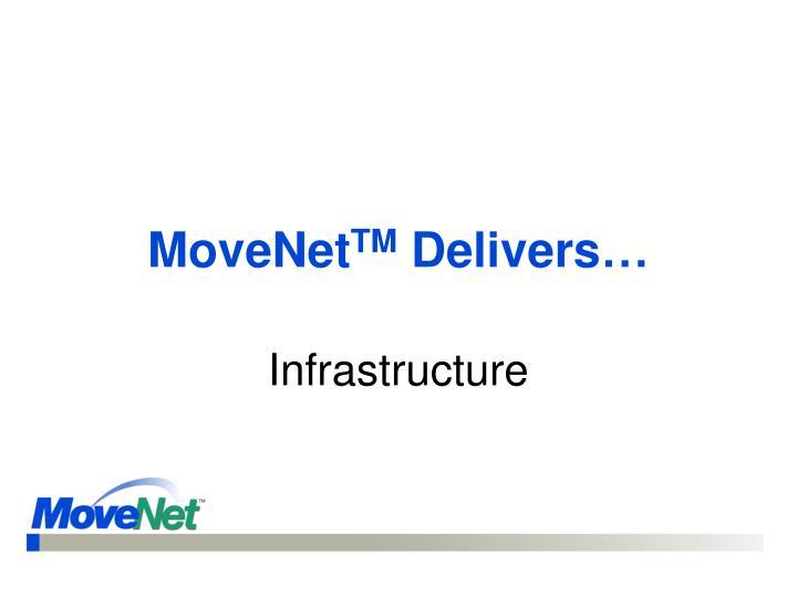 Movenet tm delivers