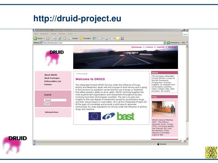 http://druid-project.eu