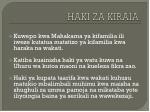 haki za kiraia