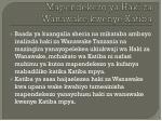 mapendekezo ya haki za wanawake kwenye katiba