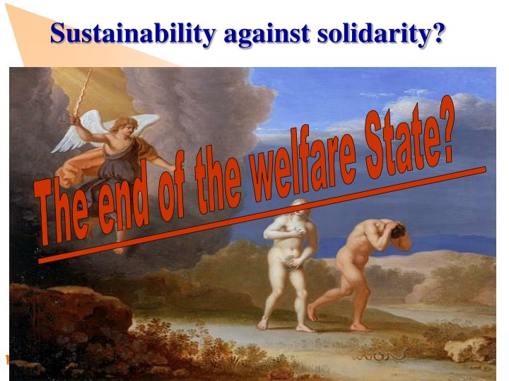 Sustainability against solidarity?
