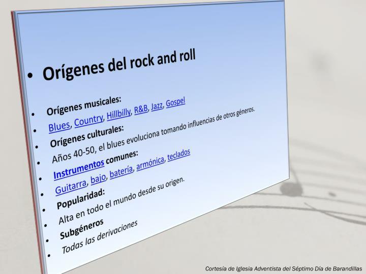 Orígenes del rock and roll