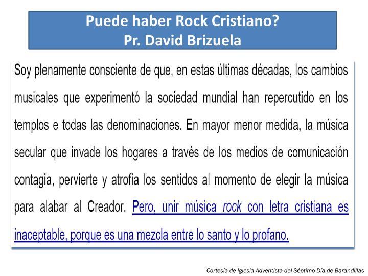 Puede haber Rock Cristiano?