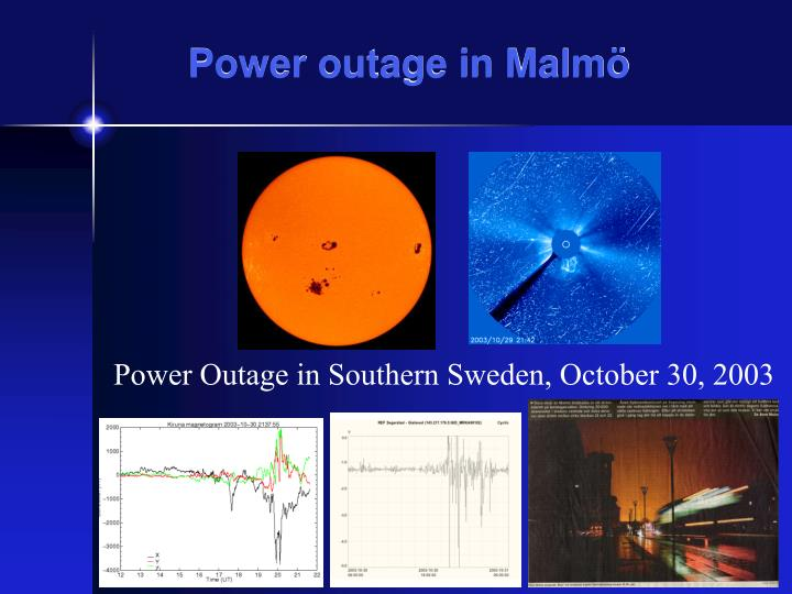 Power outage in Malmö