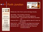 forth junction