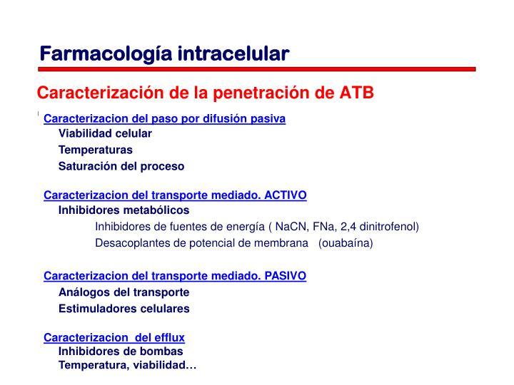 Farmacología intracelular