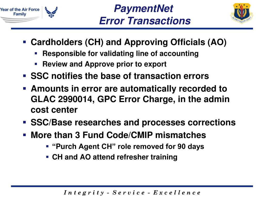 PPT - AF Services P-Card Accounting PowerPoint Presentation