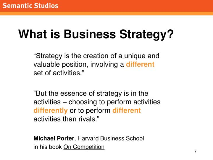 What is Business Strategy?