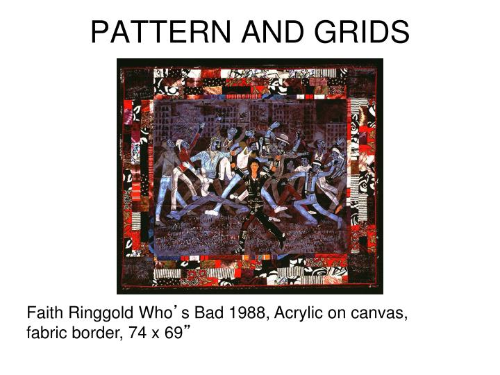 PATTERN AND GRIDS
