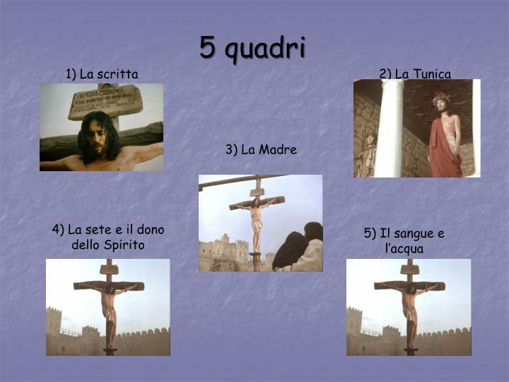 5 quadri