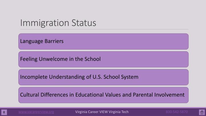 Immigration Status