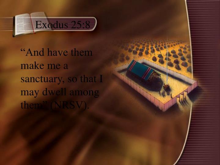 Exodus 25:8