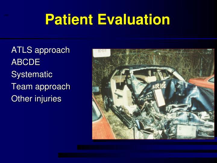 Patient Evaluation
