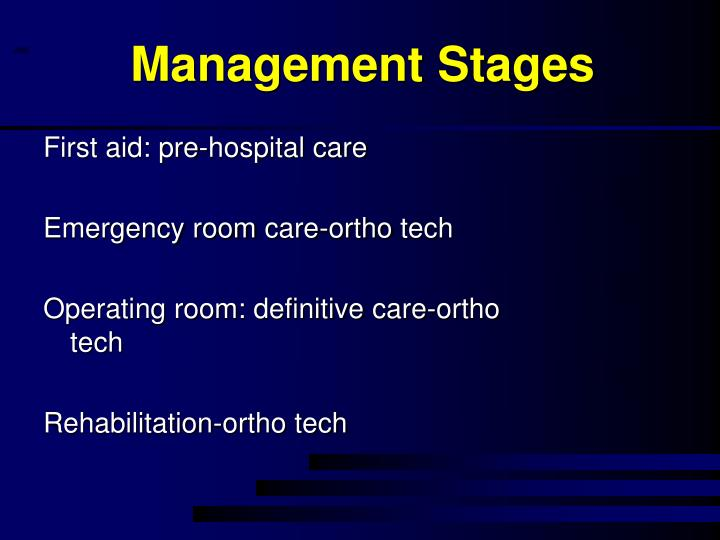 Management Stages
