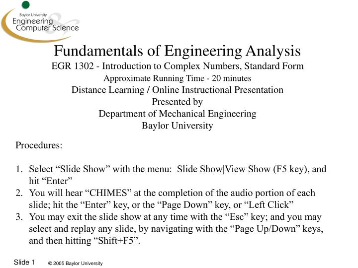 Ppt Fundamentals Of Engineering Analysis Egr 1302 Introduction