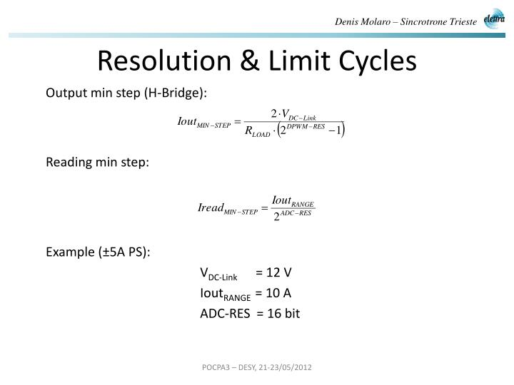 Resolution & Limit Cycles